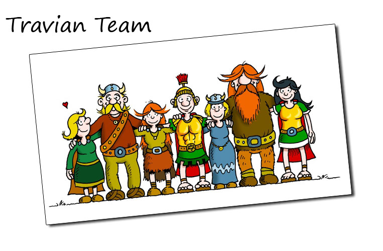 TRAVIAN Team - worldwide
